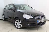 USED 2007 57 VOLKSWAGEN POLO 1.9 SPORT TDI 5DR 99 BHP FULL SERVICE HISTORY + LOW MILEAGE + AIR CONDITIONING + RADIO/CD + ELECTRIC WINDOWS + 15 INCH ALLOY WHEELS