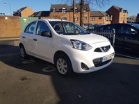 USED 2015 65 NISSAN MICRA 1.2 VISIA 5d 79 BHP NISSAN WARRANTY TO 10/11/2018 , LOW CO2 EMISSIONS(115G/KM), ONLY £30 ROAD TAX, EXCELLENT FUEL ECONOMY!!..AUX/USB!!