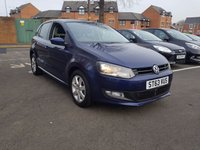 USED 2014 63 VOLKSWAGEN POLO 1.4 MATCH EDITION DSG 5d AUTO 83 BHP EXCELLENT FUEL ECONOMY!..LOW CO2 EMISSIONS(134G/KM)..LOW ROAD TAX..FULL HISTORY..WITH PARKING SENSORS, ALLOY WHEELS AND AIR CONDITIONING!!