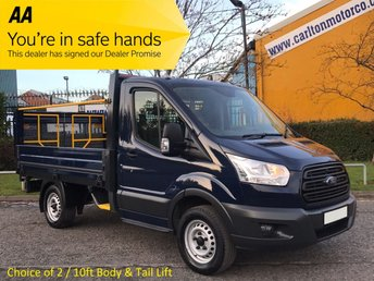 2014 FORD TRANSIT 310s L1-H1 Dropside+Tail-Lift 2.2TDCi 100 RWD Low Mileage Ex Lease Choice in Stock Fsh Free UK Delivery £SOLD