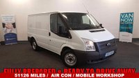 2012 FORD TRANSIT 2.2 300 100 BHP +Low Mileage+Air Con+Rear Parking Sensors+Mobile Workshop+Roof Vent+Rear Step £6980.00