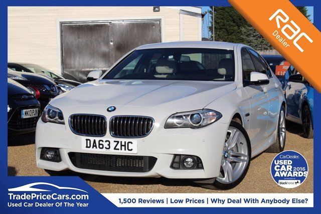 View our 2014 63 BMW 5 SERIES 2.0 520D M SPORT 4d AUTO 181 BHP