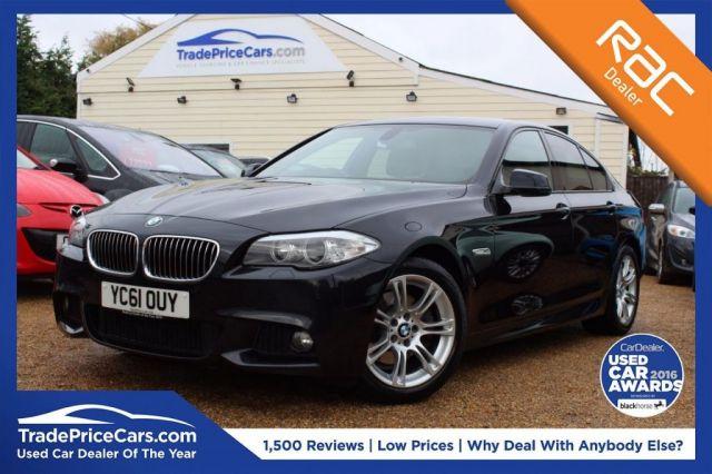 View our 2011 61 BMW 5 SERIES 2.0 520D M SPORT 4d 181 BHP
