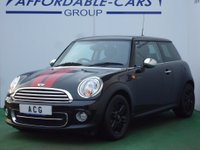 USED 2012 12 MINI HATCH COOPER 1.6 Cooper D 3dr 37K+F/S/H+BLUETOOTH+DAB