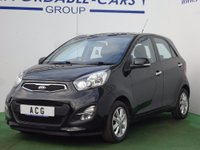 USED 2013 63 KIA PICANTO 1.25 2 ISG 5dr (ISG) 1 OWNER+BLUETOOTH+A/C+ALLOYS
