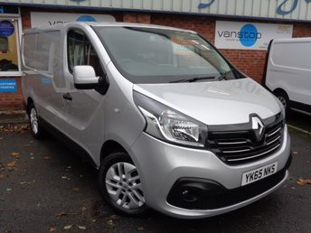 2015 RENAULT TRAFIC 1.6 SL27 SPORT DCI S/R P/V 1d 115 BHP £9500.00