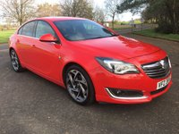 USED 2014 VAUXHALL INSIGNIA 2.0 SRI NAV VX-LINE CDTI ECOFLEX S/S 5d 138 BHP OUTSTANDING CONDITION THROUGHOUT, READY TO GO, MOT DEC 2018