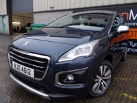USED 2014 PEUGEOT 3008 1.6 HDI ACTIVE 5d 115 BHP Excellent Condition, One Owner, FSH, Low Rate No Fee Finance Available
