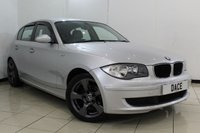 USED 2008 08 BMW 1 SERIES 1.6 116I 5DR 121 BHP BLUETOOTH + RADIO/MP3 + AIR CONDITIONING + ELECTRIC WINDOWS + 17 INCH ALLOY WHEELS