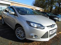 USED 2011 61 FORD FOCUS 1.6 ZETEC TDCI 5d 113 BHP JUST 1 FORMER KEEPER+FULL HISTORY WITH 6 STAMPS IN THE BOOK