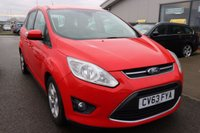 USED 2013 63 FORD GRAND C-MAX 2.0 GRAND ZETEC TDCI 5d AUTO 138 BHP LOW DEPOSIT OR NO DEPOSIT FINANCE AVAILABLE.