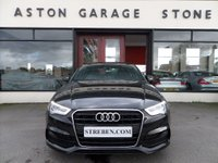 USED 2014 64 AUDI A3 2.0 TDI S LINE 4d 148 BHP **UPGRADED LEATHER * SAT NAV ** ** SAT NAV * SUPER SPORT SEATS **