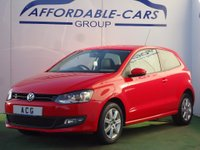 USED 2013 63 VOLKSWAGEN POLO 1.2 Match Edition 3dr 21K+F/S/H+CRUISE+DAB