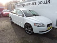 2012 VOLVO S40 2.0 SE LUX EDITION 4d 143 BHP £SOLD