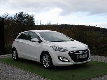 2012 HYUNDAI I30 1.6 STYLE NAV BLUE DRIVE CRDI 5d 126 BHP £7500.00
