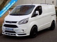 USED 2013 63 FORD TRANSIT CUSTOM 'BLACK' L1H1 270 SWB LOW ROOF 2.2 100BHP 6 SPEED Only 1 Available, 1 Owner, Full Service History