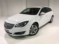 USED 2013 63 VAUXHALL INSIGNIA 2.0 ELITE CDTI 5d AUTO 160 BHP NATIONWIDE WARRANTY+ 12 MONTH MOT AND FULL MAIN DEALER SERVICE HISTORY
