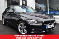 USED 2014 64 BMW 3 SERIES 2.0 318D SPORT 4d 141 BHP STUNNING LOW MILEAGE BMW 3 SERIES SPORT