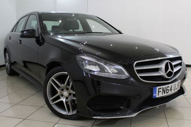 View our 2014 64 MERCEDES-BENZ E CLASS 2.1 E250 CDI AMG SPORT 4DR AUTOMATIC 202 BHP