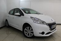 USED 2013 63 PEUGEOT 208 1.4 HDI ACCESS PLUS 5DR 68 BHP FULL SERVICE HISTORY + AIR CONDITIONING + CRUISE CONTROL + MULTI FUNCTION WHEEL + RADIO/CD + AUXILIARY PORT