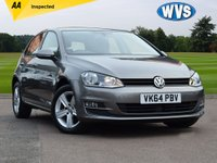 2014 VOLKSWAGEN GOLF 1.6 MATCH TDI BLUEMOTION TECHNOLOGY DSG 5d AUTO 103 BHP £11999.00