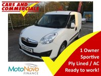2014 VAUXHALL COMBO 1.3 CDTI 2000 L1 H1 Sportive 90ps £4675.00