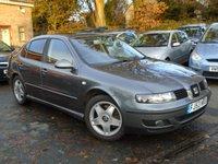 2003 SEAT TOLEDO 2.3 V5 4d 168 BHP £1295.00