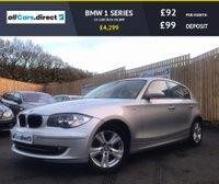 USED 2007 57 BMW 1 SERIES 2.0 118D SE 5d 141 BHP