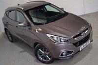 2014 HYUNDAI IX35 2.0 CRDI SE NAV 5d AUTO 134 BHP £12700.00