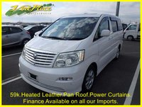 USED 2005 54 TOYOTA ALPHARD 3.0 MZ G EDITION 7 SEAT AUTO LEATHER, PANORAMIC ROOF +59K+HEATED LEATHER+ROOF+CURTAINS+TWIN POWER DOORS+