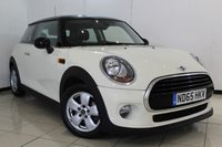 USED 2015 65 MINI HATCH COOPER 1.5 COOPER D 3DR 114 BHP BLUETOOTH + AIR CONDITIONING + RADIO/CD + AUXILIARY PORT + 15 INCH ALLOY WHEELS