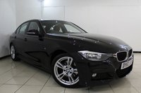 USED 2013 63 BMW 3 SERIES 3.0 330D M SPORT 4DR AUTOMATIC 255 BHP HEATED LEATHER SEATS + SAT NAVIGATION + PARKING SENSOR + BLUETOOTH + CRUISE CONTROL + MULTI FUNCTION WHEEL + 18 INCH ALLOY WHEELS