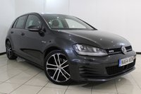 USED 2014 64 VOLKSWAGEN GOLF 2.0 GTD 5DR 181 BHP VW SERVICE HISTORY + PARKING SENSOR + BLUETOOTH + MULTI FUNCTION WHEEL + CLIMATE CONTROL + ALLOY WHEELS