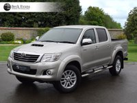 USED 2014 64 TOYOTA HI-LUX 3.0 INVINCIBLE 4X4 D-4D DCB 1d AUTO 169 BHP SATELITE NAVIGATION 1 OWNER  FULL LEATHER