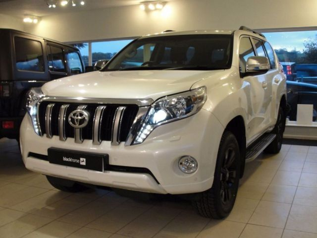 2015 65 TOYOTA LAND CRUISER 2.8 D-4D ICON 5d AUTO 175 BHP