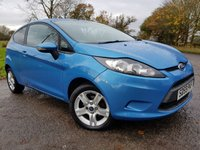 USED 2010 59 FORD FIESTA 1.2 STYLE 3d SERVICE HISTORY