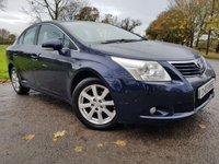 USED 2010 59 TOYOTA AVENSIS 2.0 TR D-4D 4d ALLOYS A/C