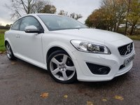 USED 2011 11 VOLVO C30 1.6 D2 R-DESIGN 3d FULL HISTORY & LEATHER