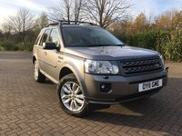 USED 2011 11 LAND ROVER FREELANDER 2 2.2 TD4 XS 5d 150 BHP