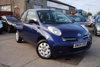 USED 2005 05 NISSAN MICRA 1.2 S 3d 80 BHP 2 OWNER + FULL SERVICE  HISTORY + LONG MOT