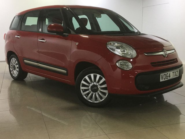 View our 2014 64 FIAT 500L MPW 1.2 MULTIJET POP STAR DUALOGIC 5d AUTO 85 BHP