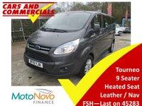 2015 FORD TOURNEO CUSTOM 300 L2 Titanium 125ps 9-Seats (Leather & Sat Nav) £15995.00