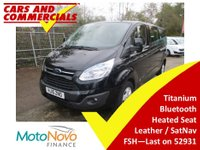 2015 FORD TOURNEO CUSTOM 300 L2 Titanium 125ps 9-Seats (Leather & Sat Nav) £15650.00