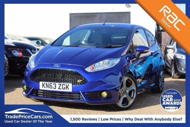View our 2013 63 FORD FIESTA 1.6 ST-2 3d 180 BHP