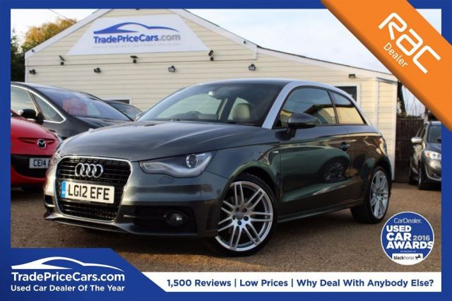 View our 2012 12 AUDI A1 1.6 TDI S LINE 3d 103 BHP