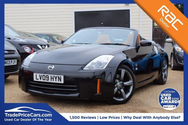 View our 2009 09 NISSAN 350 Z 3.5 V6 ROADSTER GT 2d 309 BHP
