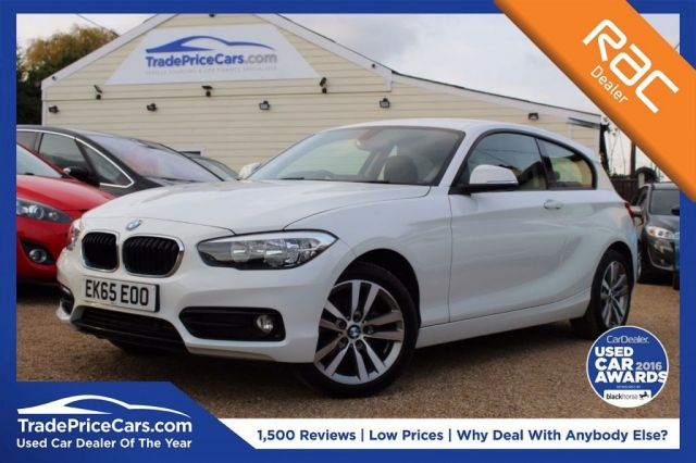 View our 2015 65 BMW 1 SERIES 1.5 116D SPORT 3d AUTO 114 BHP