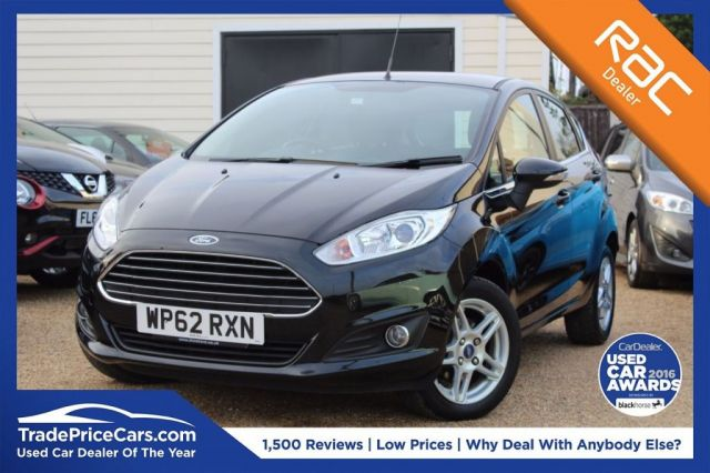 View our 2013 62 FORD FIESTA 1.2 ZETEC 5d 81 BHP