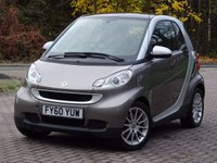 2010 SMART FORTWO 0.8 PASSION CDI 2d 54 BHP £3277.00