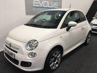 2015 FIAT 500 1.2 S 3d 69 BHP £SOLD